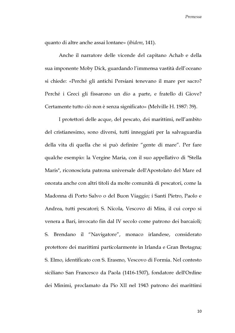 Anteprima della tesi: U Santu Patri: San Francesco da Paola, il padre del mare, Pagina 6