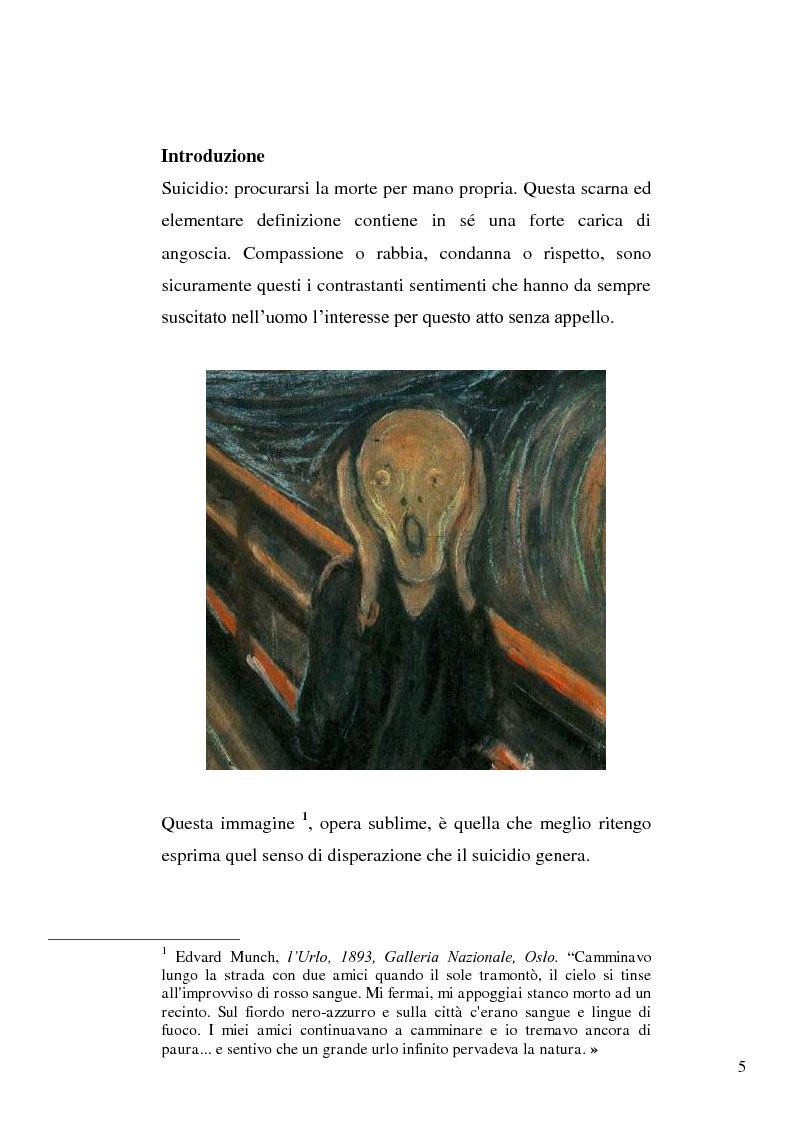 Anteprima della tesi: L'incidente stradale come mezzo di suicidio. Tecniche investigative e profilo criminologico della vittima., Pagina 2
