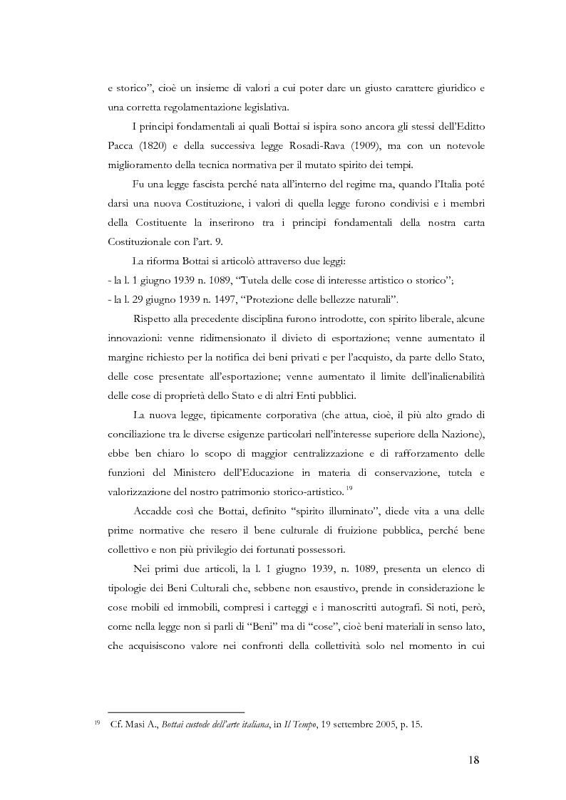 Anteprima della tesi: Il sistema museale in Italia e in Francia: un'analisi giuridica comparata, Pagina 11