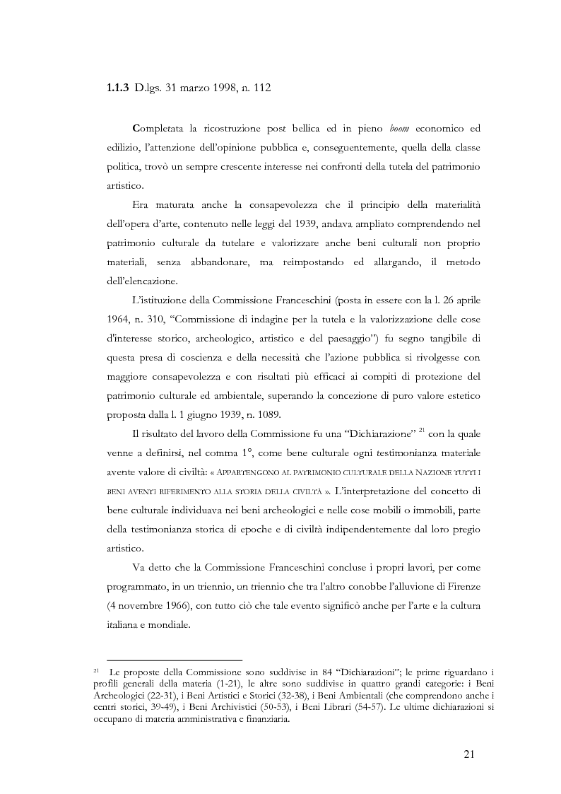 Anteprima della tesi: Il sistema museale in Italia e in Francia: un'analisi giuridica comparata, Pagina 14
