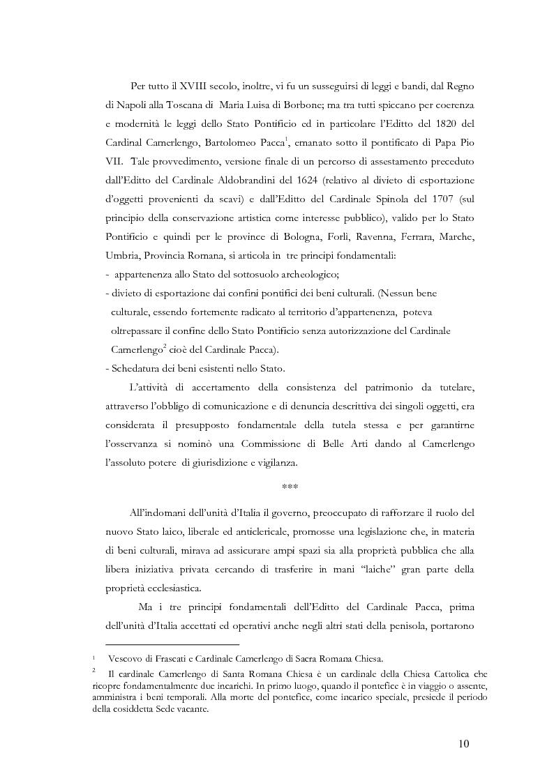 Anteprima della tesi: Il sistema museale in Italia e in Francia: un'analisi giuridica comparata, Pagina 3