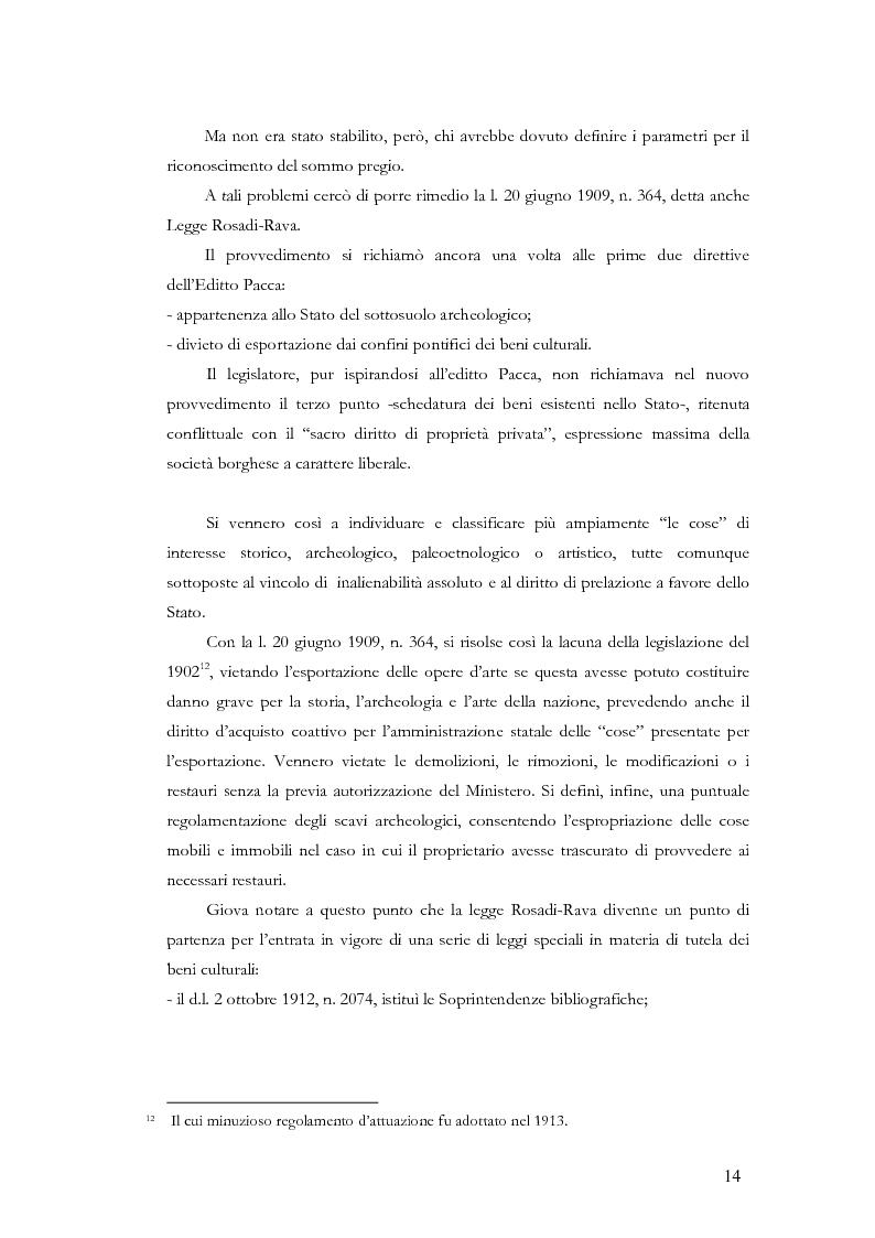 Anteprima della tesi: Il sistema museale in Italia e in Francia: un'analisi giuridica comparata, Pagina 7