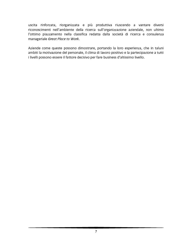 Anteprima della tesi: La motivazione come leva strategica dopo una riorganizzazione aziendale, Pagina 3