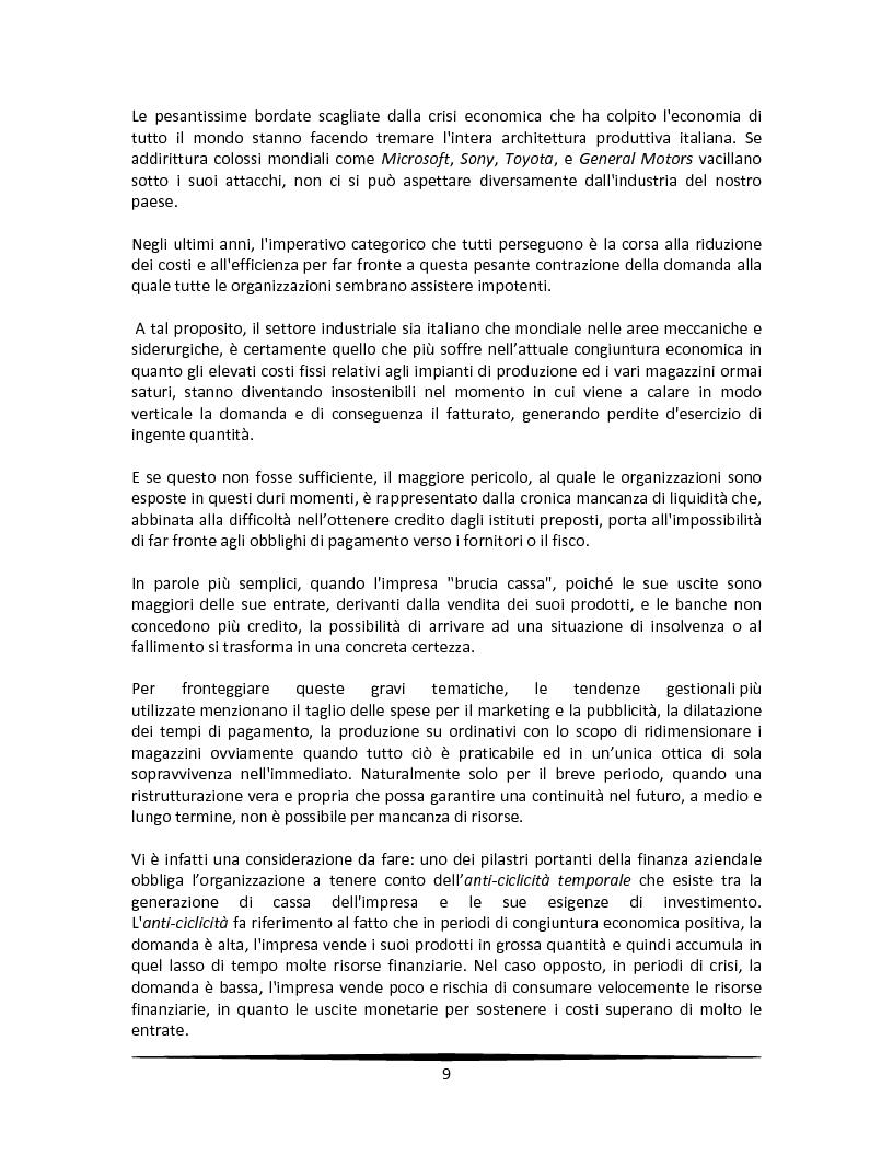 Anteprima della tesi: La motivazione come leva strategica dopo una riorganizzazione aziendale, Pagina 5