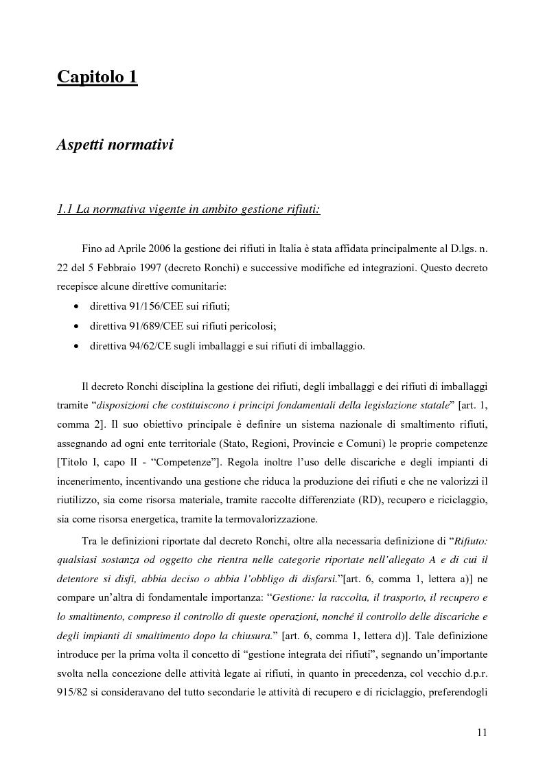 Anteprima della tesi: Rilevamento apparecchiature e consumi elettrici dell'impianto di incenerimento rifiuti sanitari di Roma, Pagina 6