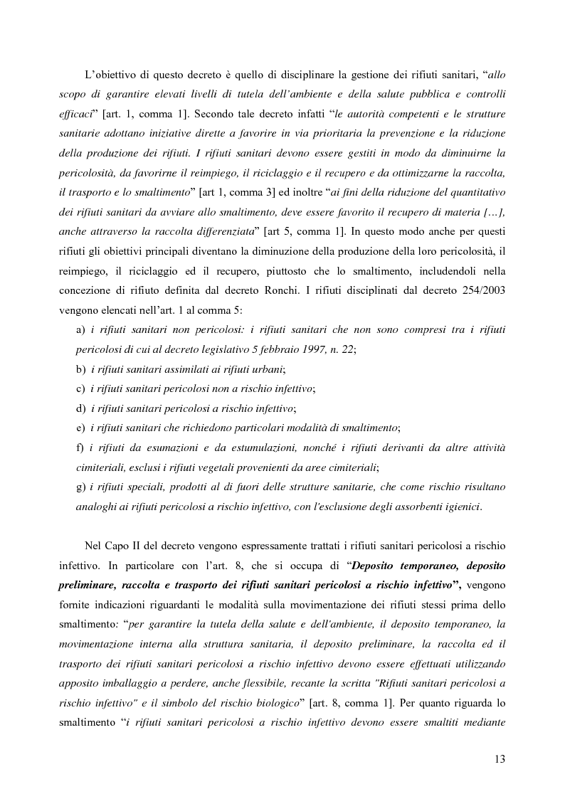 Anteprima della tesi: Rilevamento apparecchiature e consumi elettrici dell'impianto di incenerimento rifiuti sanitari di Roma, Pagina 8