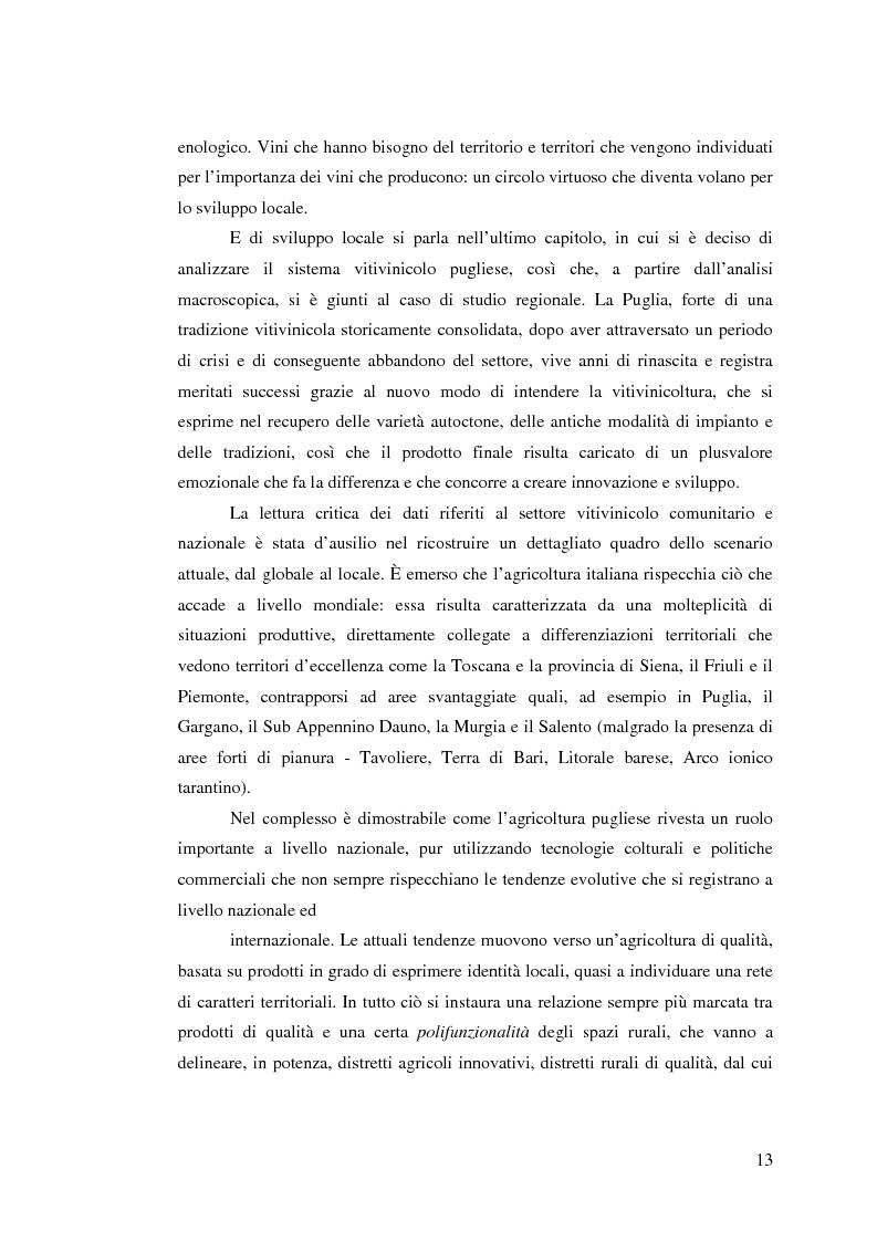 Anteprima della tesi: Vitivinicoltura e innovazione territoriale, Pagina 10