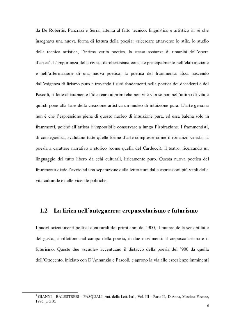 Anteprima della tesi: Il Podere di Federigo Tozzi, Pagina 6