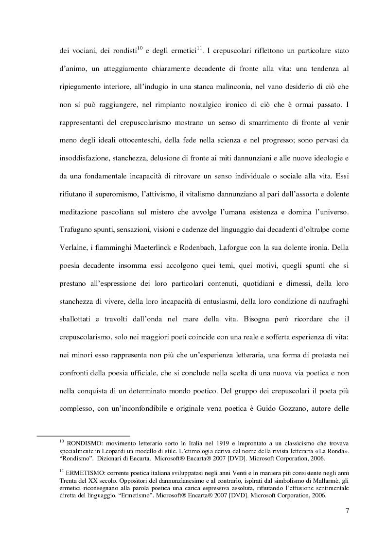 Anteprima della tesi: Il Podere di Federigo Tozzi, Pagina 7