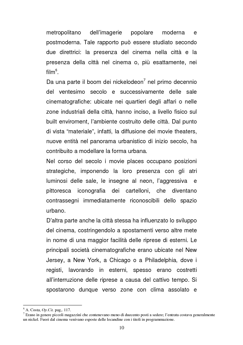Anteprima della tesi: Il ruolo della città nella serie tv americana: New York in Sex and the City, Pagina 10