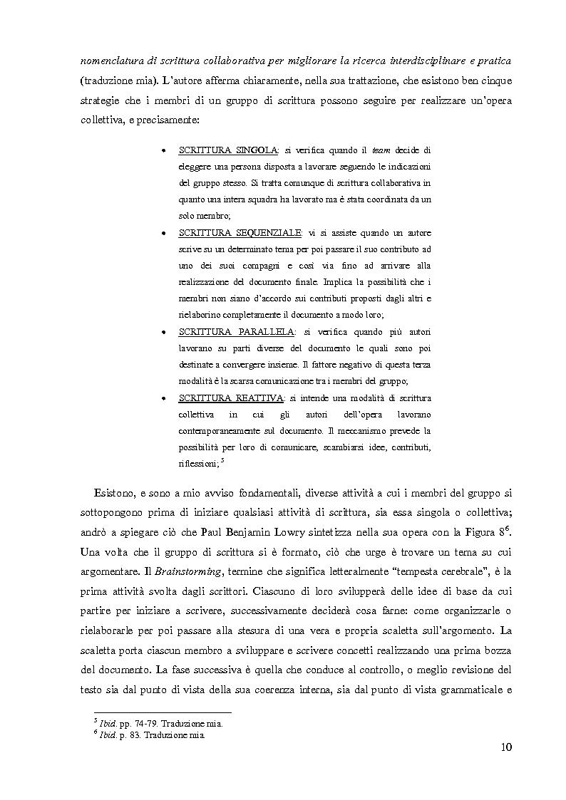 Anteprima della tesi: La Scrittura Collettiva dal manoscritto al web: storia e prospettive, Pagina 3