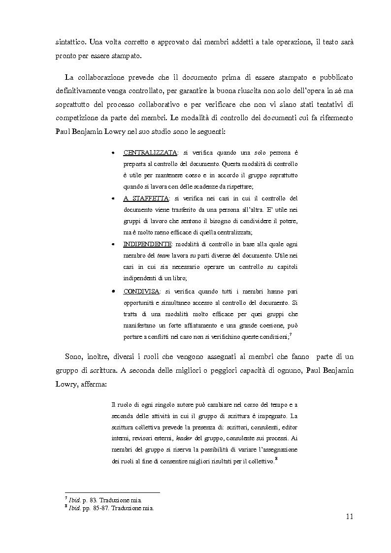 Anteprima della tesi: La Scrittura Collettiva dal manoscritto al web: storia e prospettive, Pagina 4