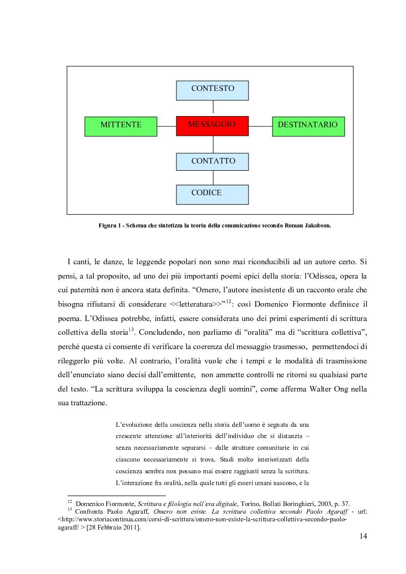 Anteprima della tesi: La Scrittura Collettiva dal manoscritto al web: storia e prospettive, Pagina 7