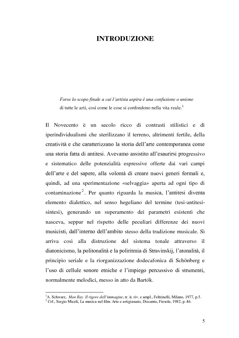 Anteprima della tesi: La musica per film e il cinema moderno. Giovanni Fusco tra Antonioni e Resnais, Pagina 2