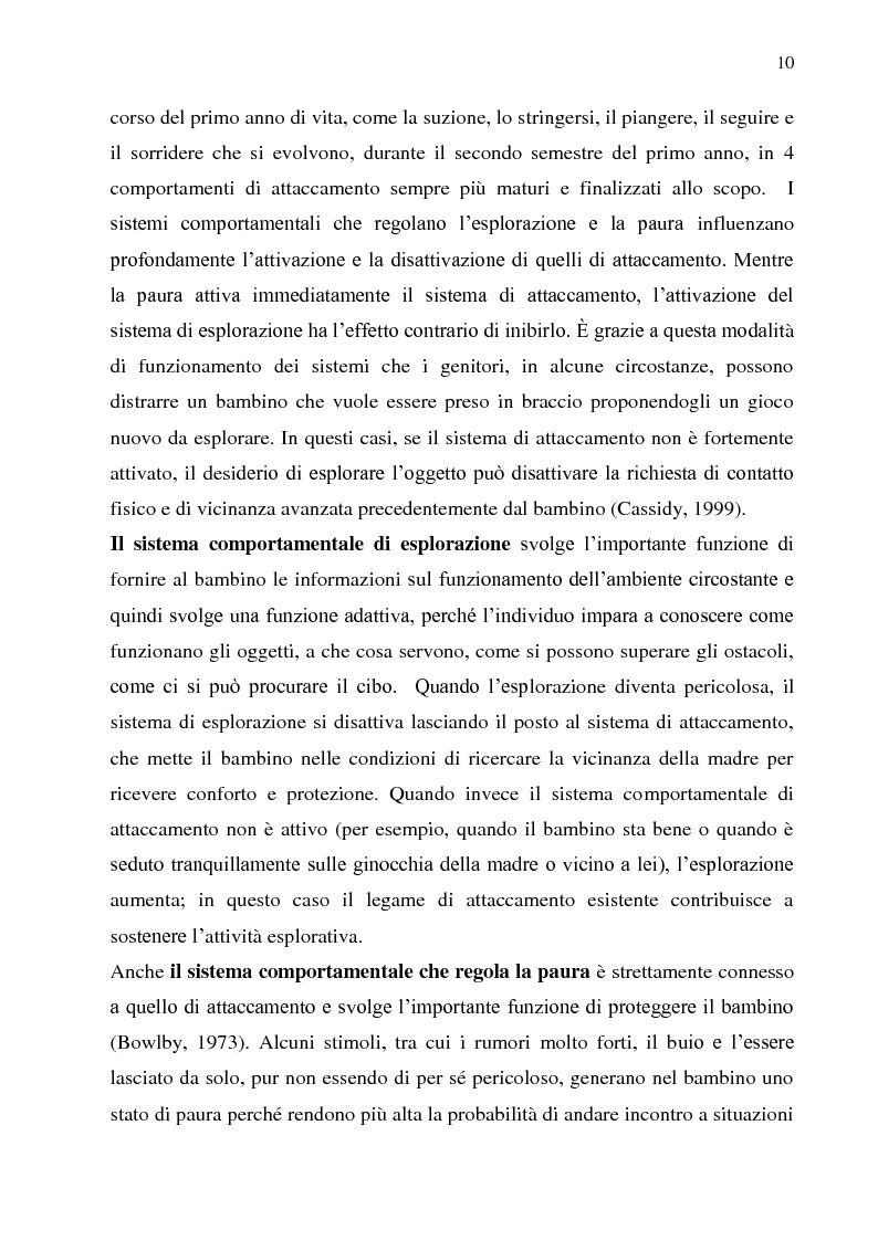 Anteprima della tesi: Stile disciplinare e sicurezza dell'attaccamento: uno studio empirico in due diverse fasce di età., Pagina 4