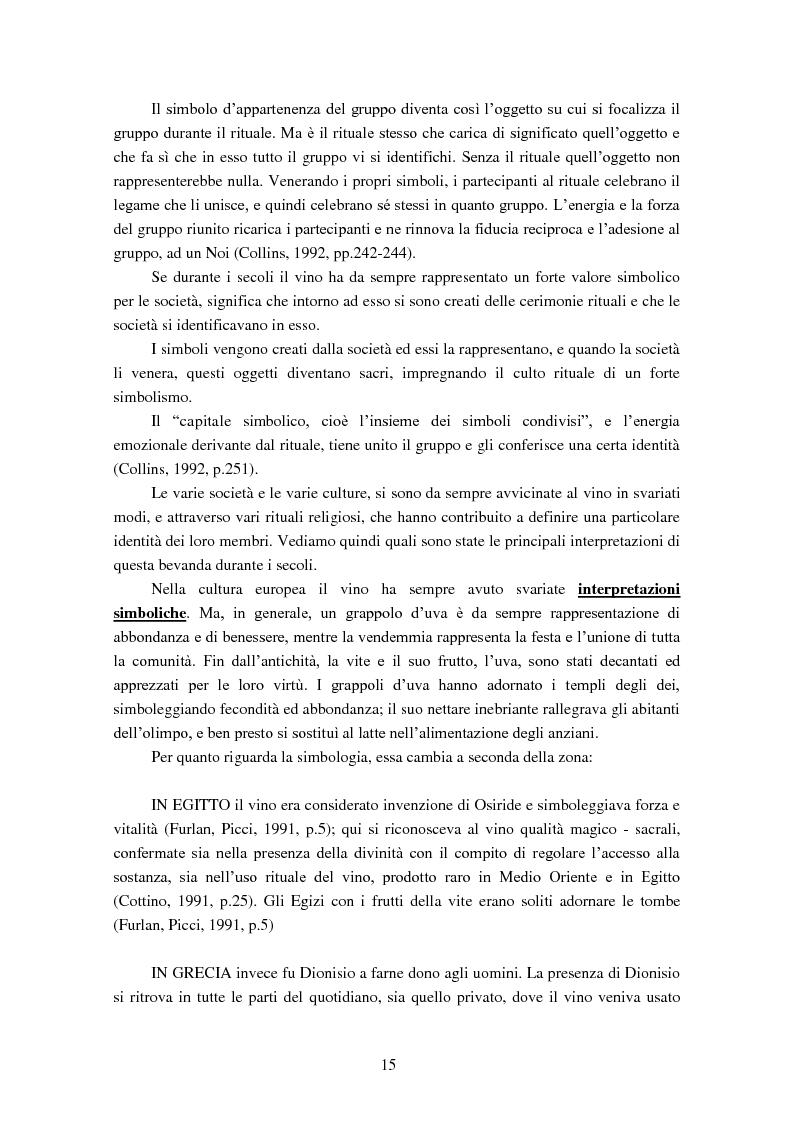 Anteprima della tesi: Giovani e alcol. Un approfondimento empirico nella realtà feltrina, Pagina 12