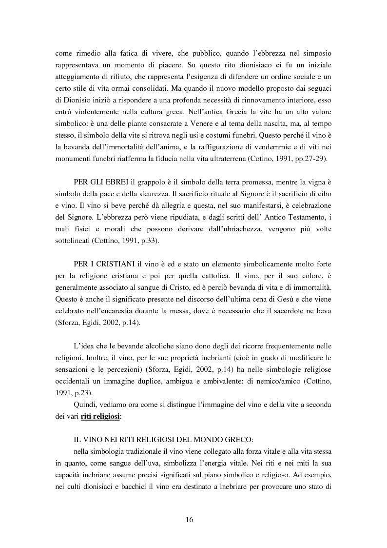 Anteprima della tesi: Giovani e alcol. Un approfondimento empirico nella realtà feltrina, Pagina 13
