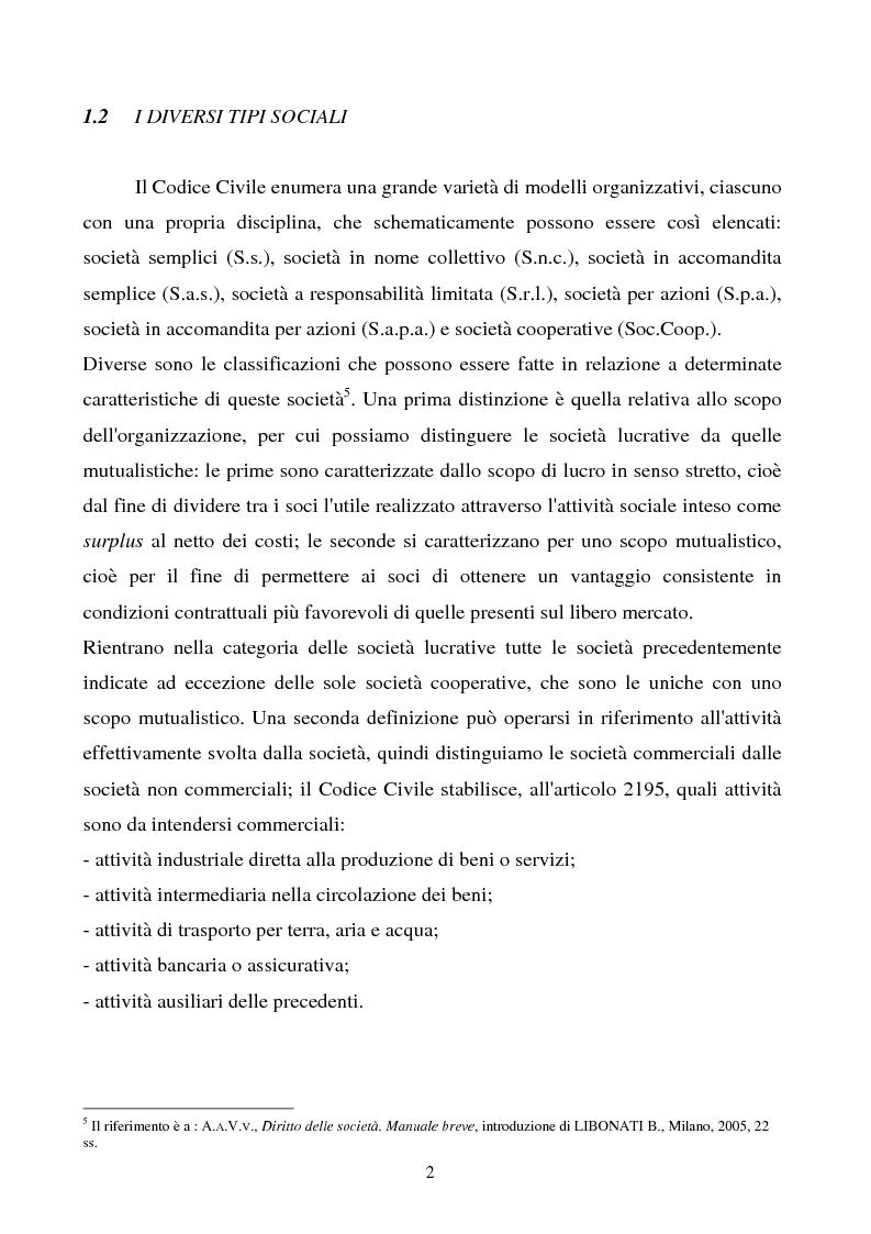 Anteprima della tesi: S.R.L. La partecipazione del socio attraverso l'assemblea e gli altri metodi di formazione delle decisioni: riflessi sulla redazione dello statuto., Pagina 3