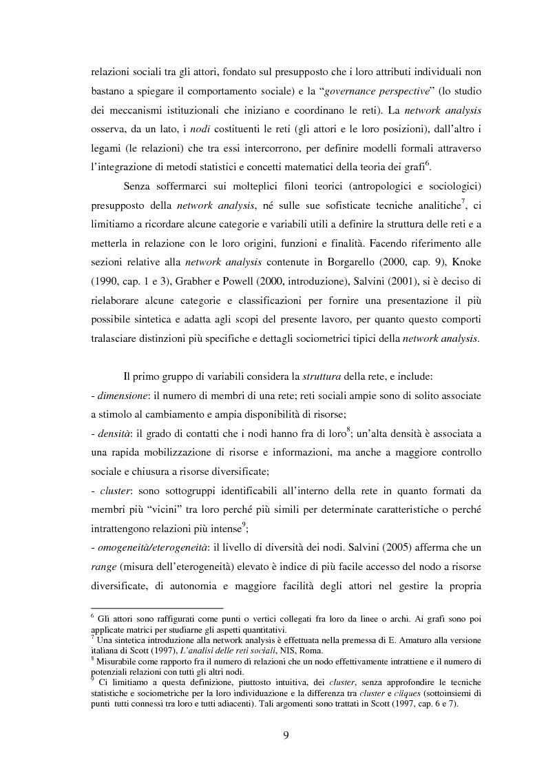 Anteprima della tesi: Reti internazionali e cooperazione tra città: logiche e problematiche del networking attivo nella definizione di politiche e progetti urbani, Pagina 10