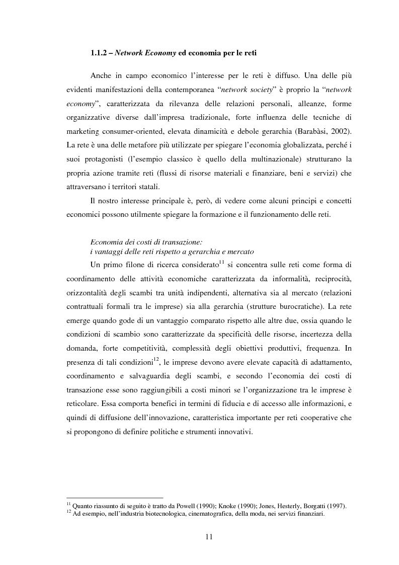 Anteprima della tesi: Reti internazionali e cooperazione tra città: logiche e problematiche del networking attivo nella definizione di politiche e progetti urbani, Pagina 12