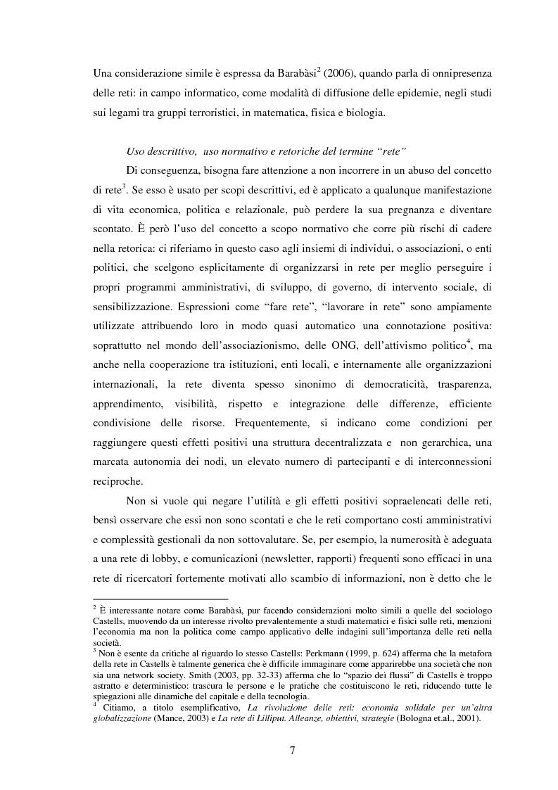Anteprima della tesi: Reti internazionali e cooperazione tra città: logiche e problematiche del networking attivo nella definizione di politiche e progetti urbani, Pagina 8