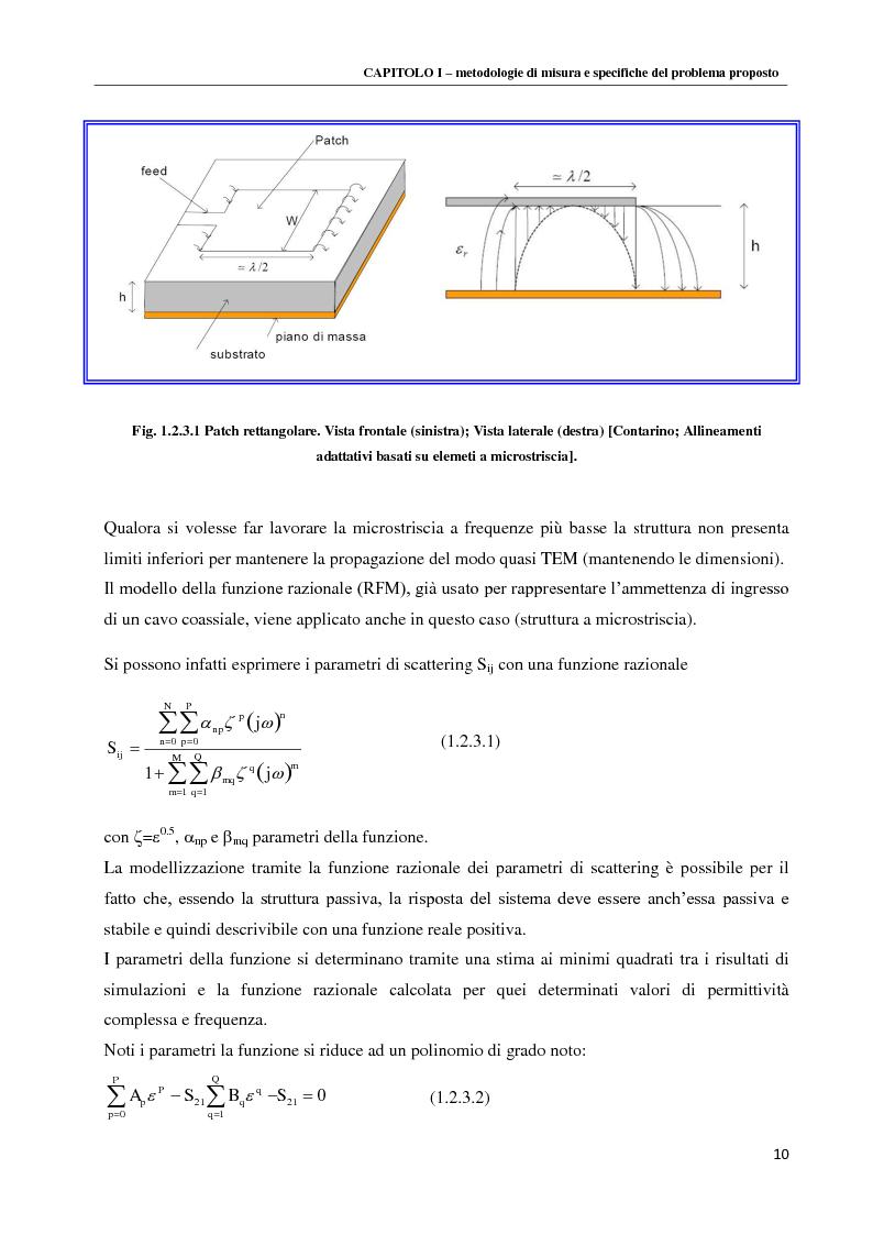 Anteprima della tesi: Spettroscopia dielettrica per la caratterizzazione morfologica di eritrociti umani, Pagina 12
