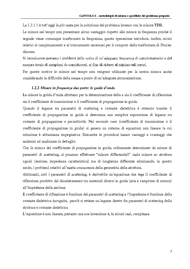 Anteprima della tesi: Spettroscopia dielettrica per la caratterizzazione morfologica di eritrociti umani, Pagina 9
