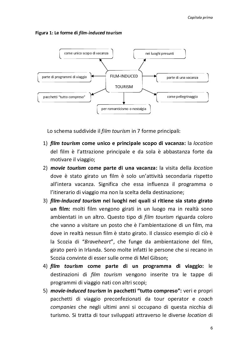 Anteprima della tesi: Sinergie tra turismo e cinema: un'analisi storica delle diverse forme del film-induced tourism, Pagina 6