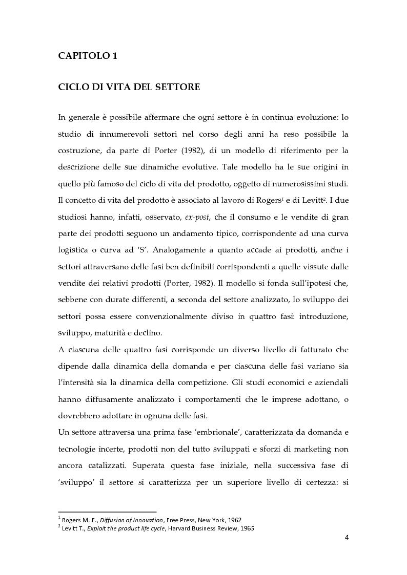 Anteprima della tesi: Metodologie di calcolo dei costi in un mercato maturo: il caso Duferdofin, Pagina 5