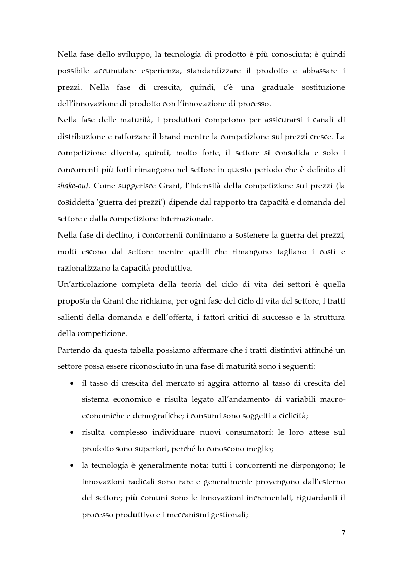 Anteprima della tesi: Metodologie di calcolo dei costi in un mercato maturo: il caso Duferdofin, Pagina 8