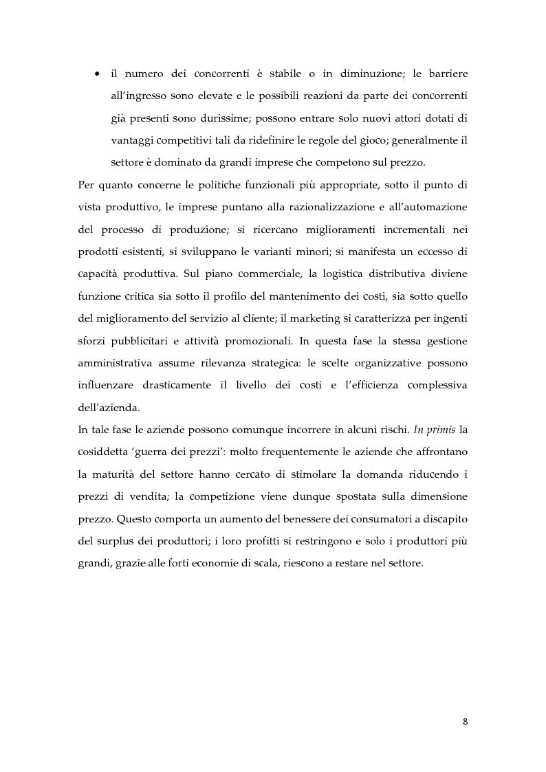Anteprima della tesi: Metodologie di calcolo dei costi in un mercato maturo: il caso Duferdofin, Pagina 9