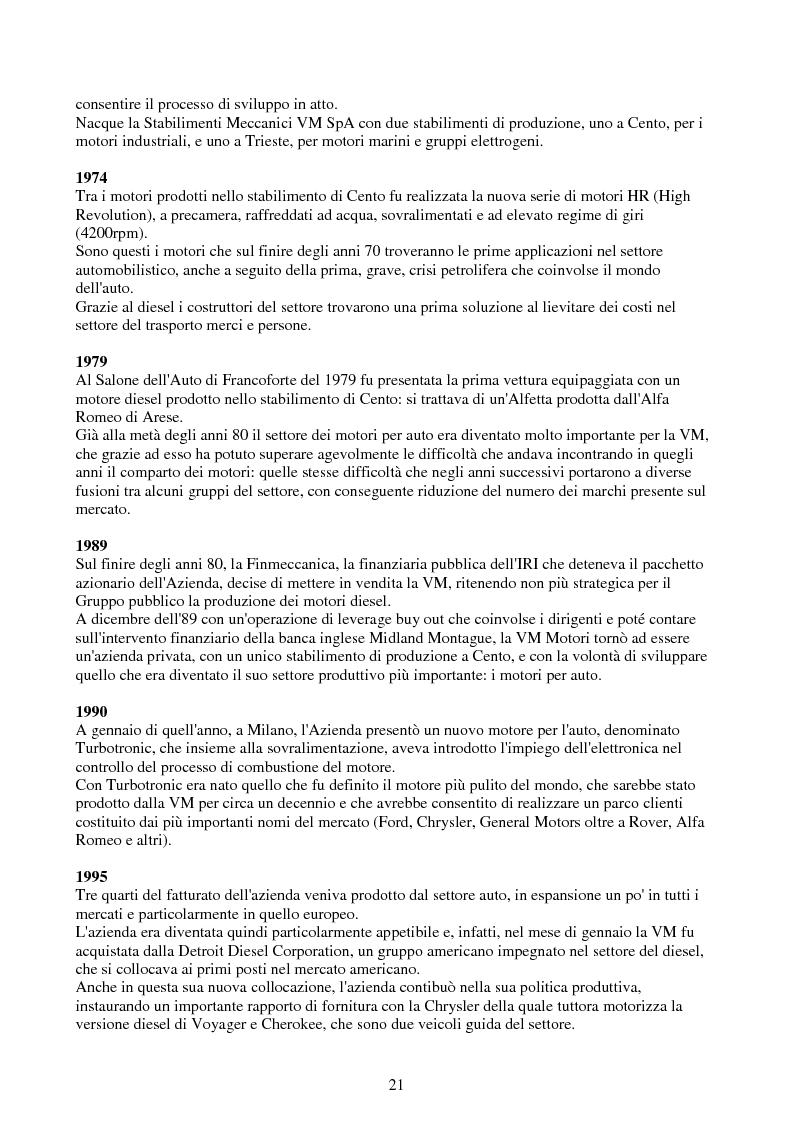 Anteprima della tesi: Verifica e ottimizzazione della distribuzione ad ingranaggi dei motori industriali e marini VM serie D, R, MD e MR con i software KISSsoft e KISSsys, Pagina 6