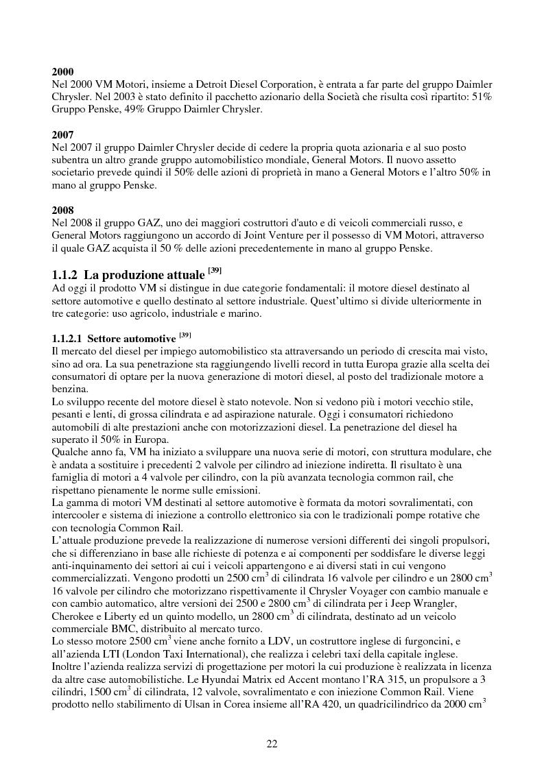 Anteprima della tesi: Verifica e ottimizzazione della distribuzione ad ingranaggi dei motori industriali e marini VM serie D, R, MD e MR con i software KISSsoft e KISSsys, Pagina 7