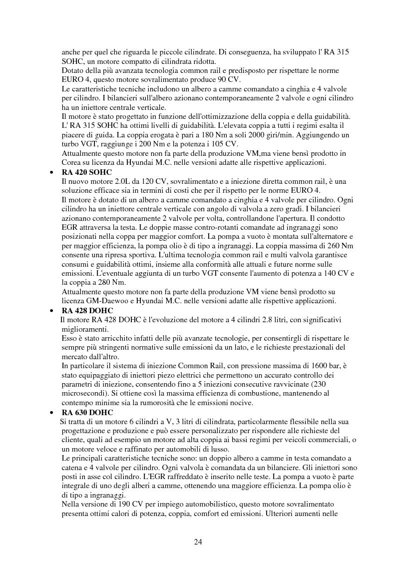 Anteprima della tesi: Verifica e ottimizzazione della distribuzione ad ingranaggi dei motori industriali e marini VM serie D, R, MD e MR con i software KISSsoft e KISSsys, Pagina 9