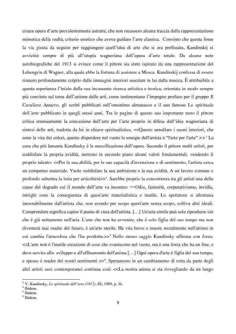 """Anteprima della tesi: La """"Spiritualità"""" tra cinema e arti elettroniche nel dibattito contemporaneo sull'arte, Pagina 7"""