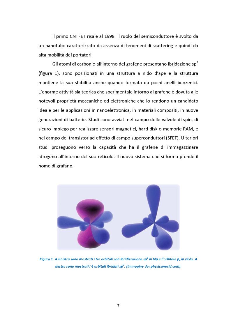 Anteprima della tesi: Calcoli da principi primi per lo studio degli effetti di bordo sulle proprietà strutturali ed elettroniche di nanostrisce di grafene, Pagina 4