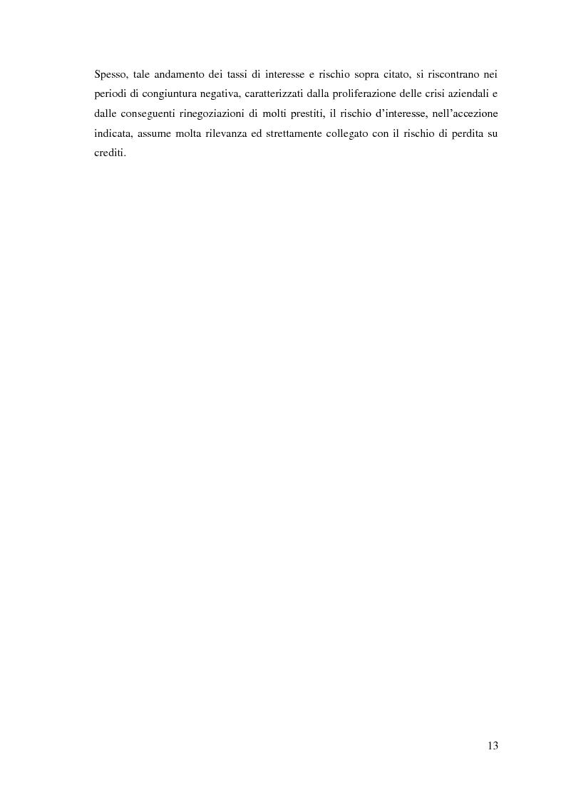 Anteprima della tesi: Le sofferenze bancarie in Italia. Un modello econometrico di analisi e previsione, Pagina 12