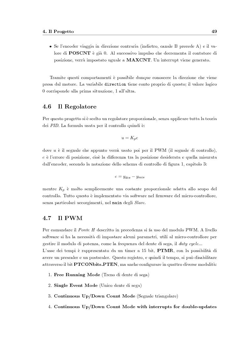 Anteprima della tesi: Progetto di un sistema di controllo per un robot basato su CAN bus, Pagina 7