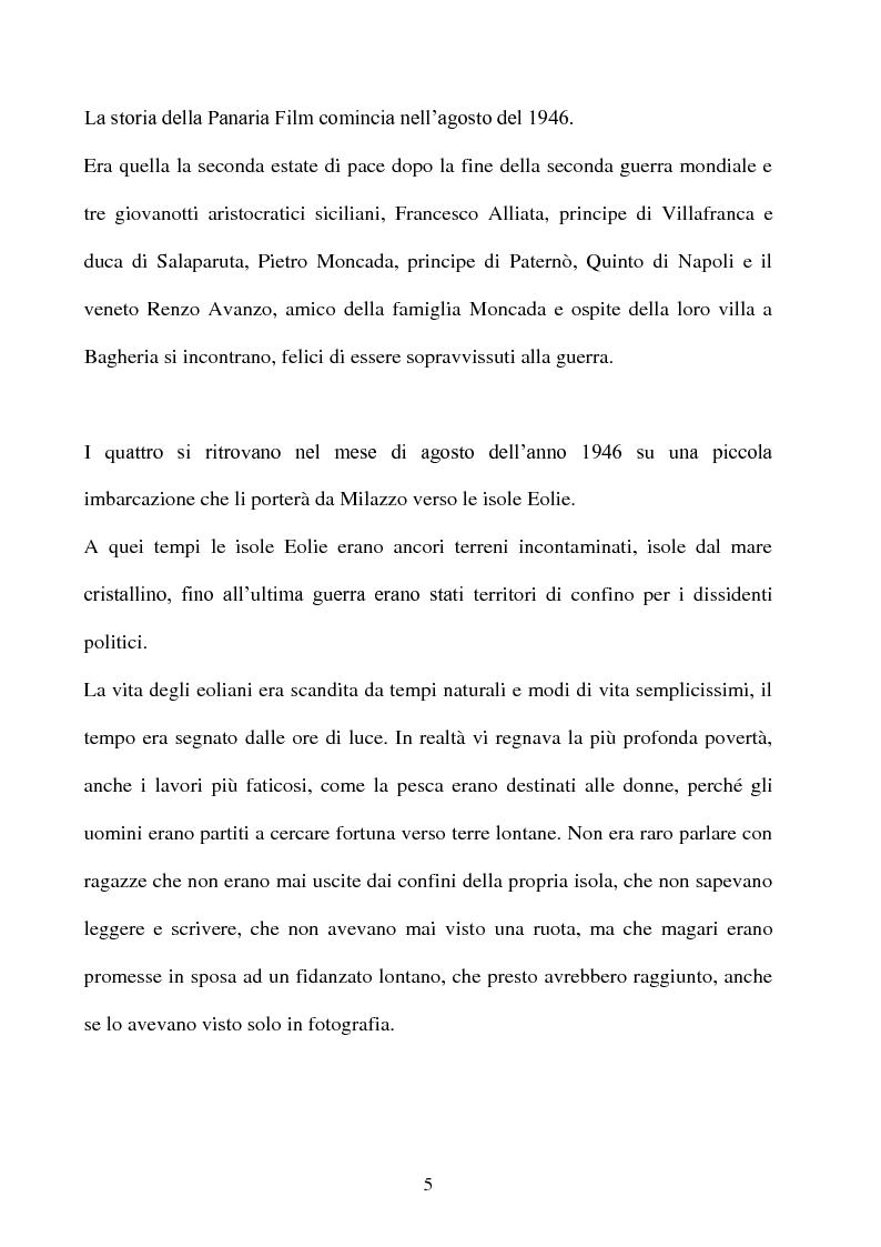 Anteprima della tesi: Produzione cinematografica in Sicilia: il caso della Panaria Film 1946-1955, Pagina 4