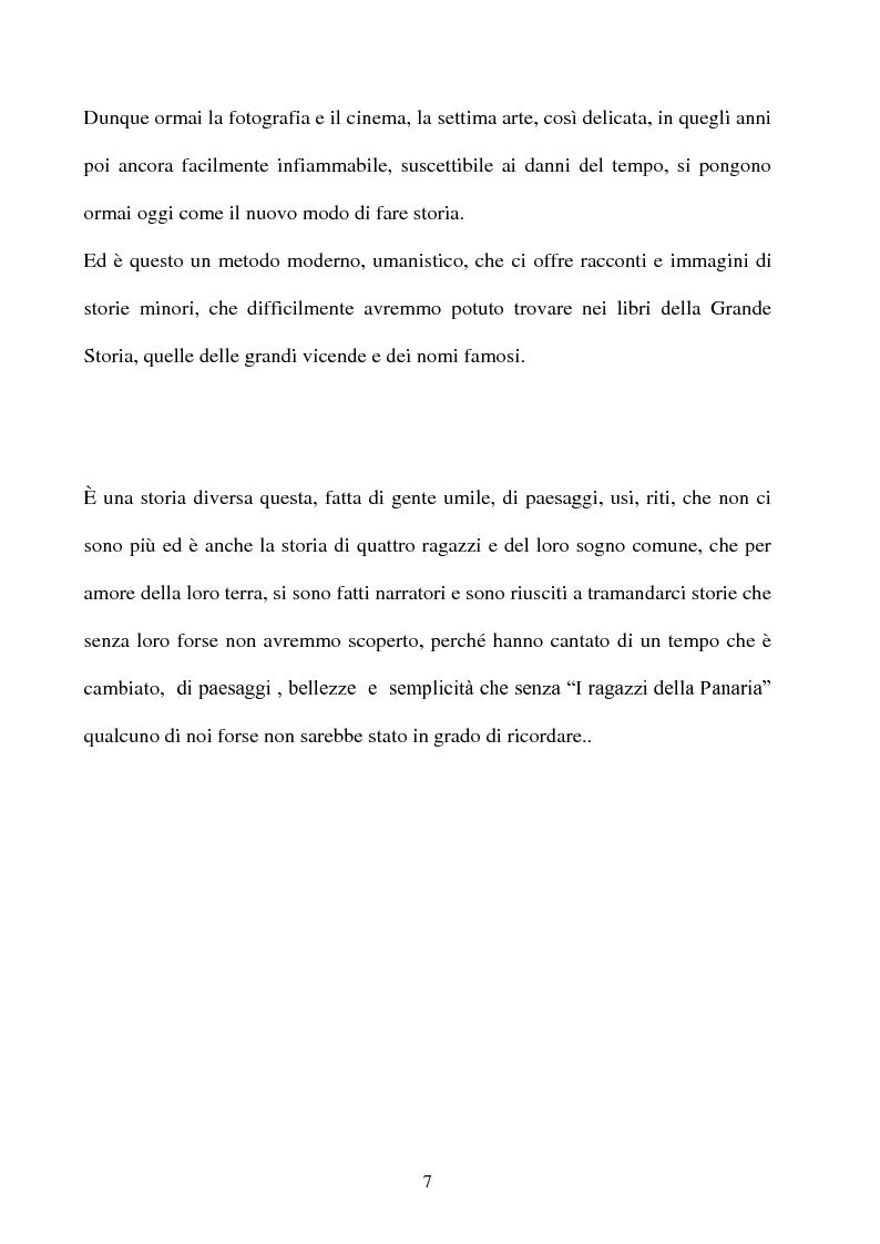 Anteprima della tesi: Produzione cinematografica in Sicilia: il caso della Panaria Film 1946-1955, Pagina 6