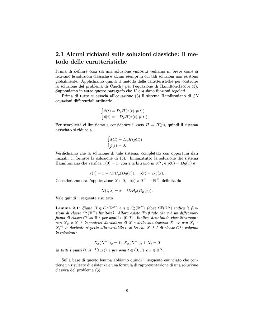 Anteprima della tesi: Algoritmi veloci per l'evoluzione dei fronti con applicazioni alla segmentazione di immagini, Pagina 10