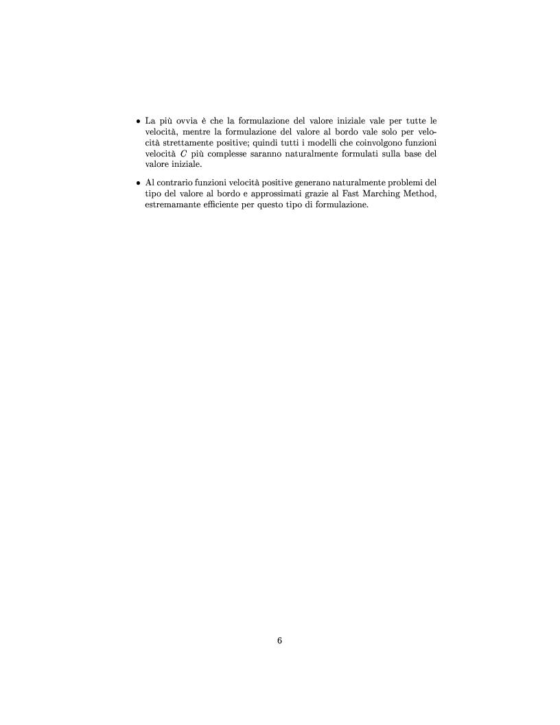 Anteprima della tesi: Algoritmi veloci per l'evoluzione dei fronti con applicazioni alla segmentazione di immagini, Pagina 8