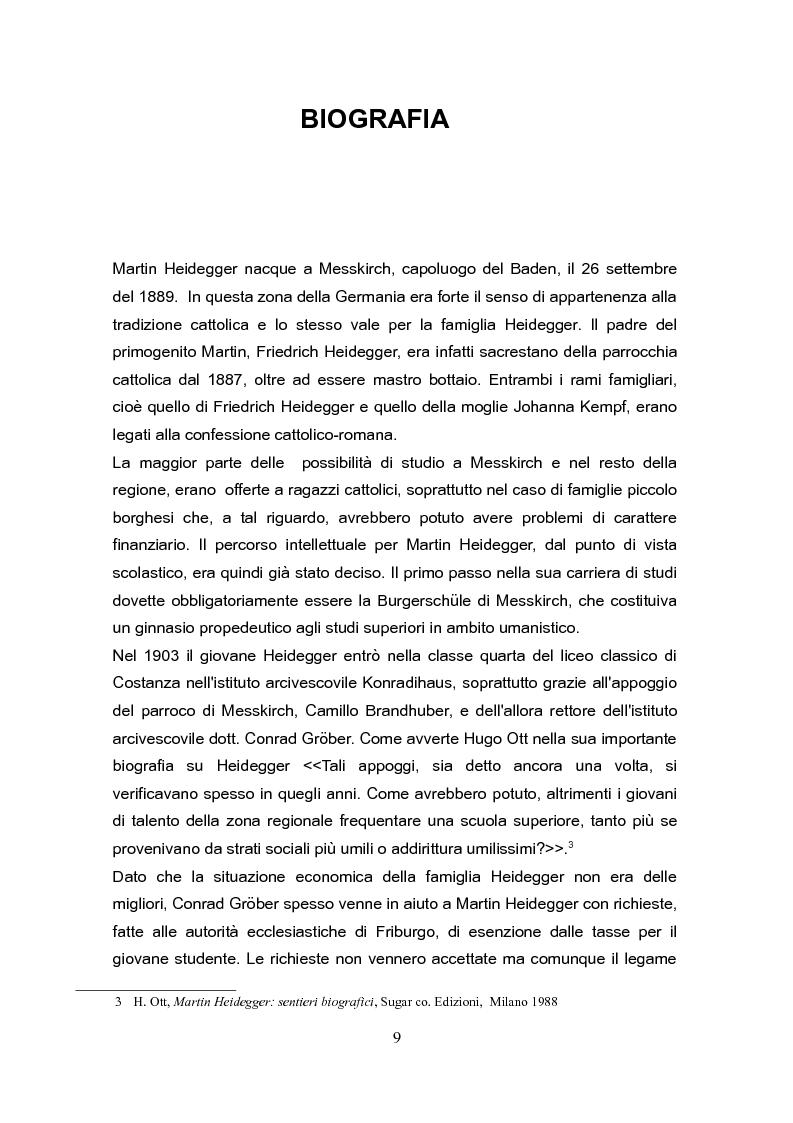 """Anteprima della tesi: Fenomenologia e reminiscenze teologiche: aspetti del percorso filosofico del """"primo"""" Heidegger, Pagina 6"""