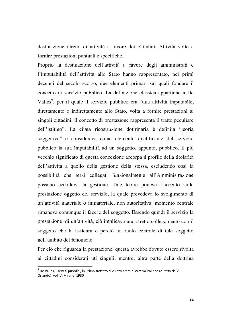 Anteprima della tesi: La riforma dei servizi pubblici locali, Pagina 11