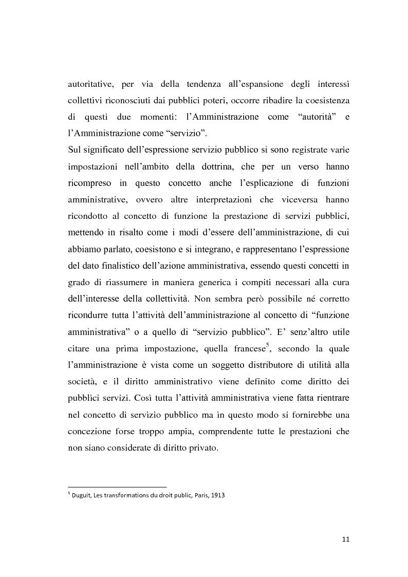 Anteprima della tesi: La riforma dei servizi pubblici locali, Pagina 8
