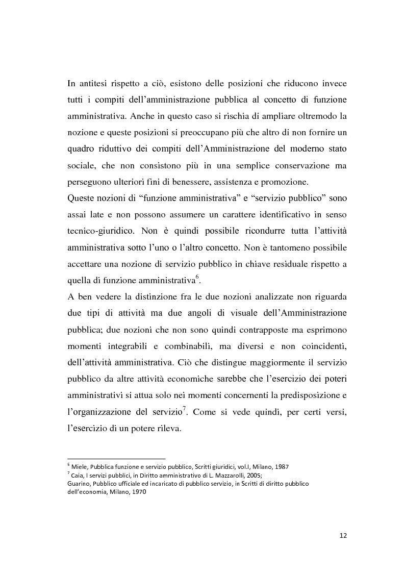 Anteprima della tesi: La riforma dei servizi pubblici locali, Pagina 9