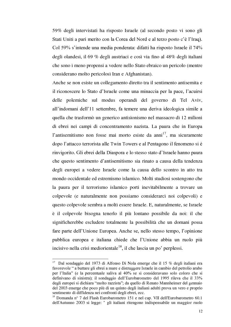 Anteprima della tesi: Il dibattito italiano sulla membership di Israele nell'Unione Europea, Pagina 10