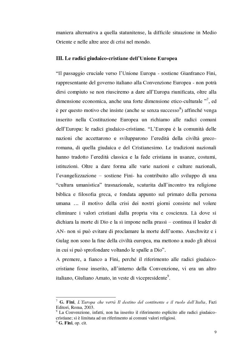 Anteprima della tesi: Il dibattito italiano sulla membership di Israele nell'Unione Europea, Pagina 7