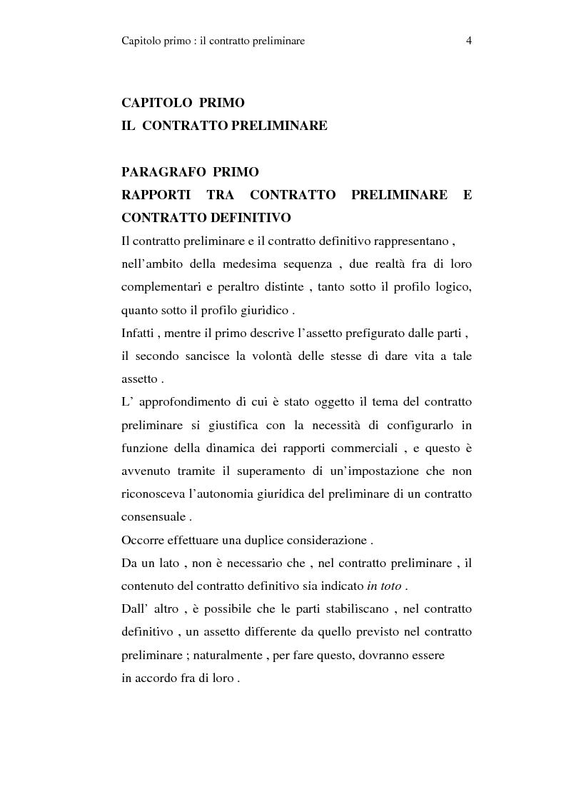 La trascrizione del contratto preliminare di compravendita - Contratto preliminare esempio ...