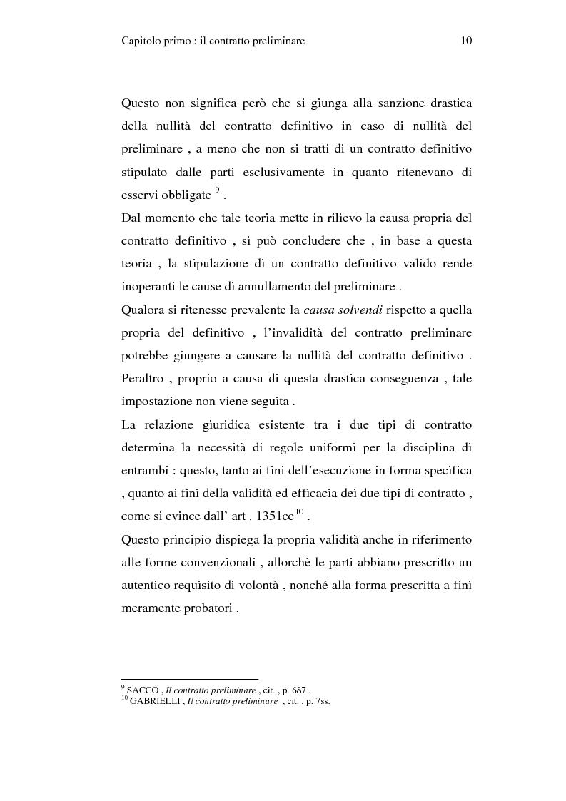 Anteprima della tesi: La trascrizione del contratto preliminare di compravendita immobiliare (diritto civile), Pagina 8